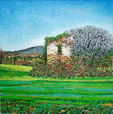 Appia Antica, House, 2008 Art Print by Noel Paine
