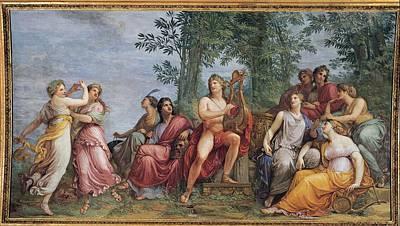 Appiani Andrea, Parnassus Apollo Art Print
