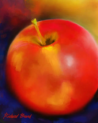 Digital Art - Apple A Day by Richard Beard