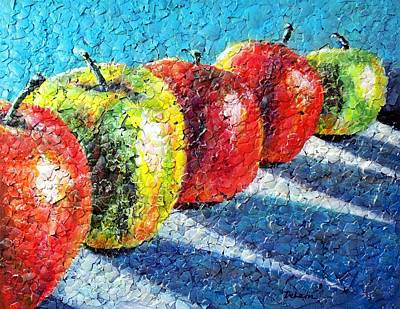 Painting - Apple A Day by Susan DeLain