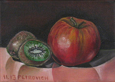 Apple And Kiwi Original by Petrovich