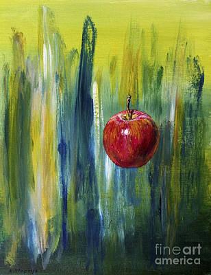 Apple Art Print by Arturas Slapsys