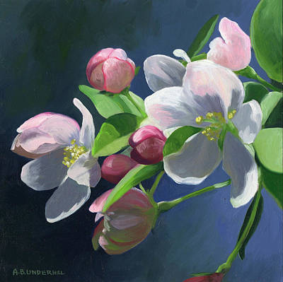 Painting - Apple Blossom by Alecia Underhill