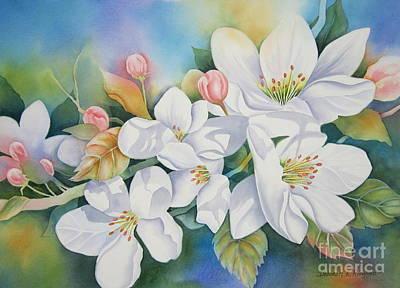 Apple Blossom Time Original