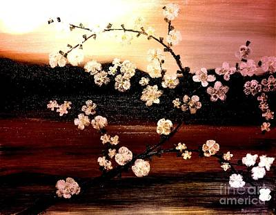 Apple Blossom Time Art Print by Denise Tomasura