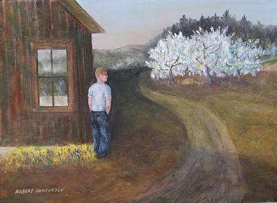 Painting - Apple Blossoms by Robert Harrington