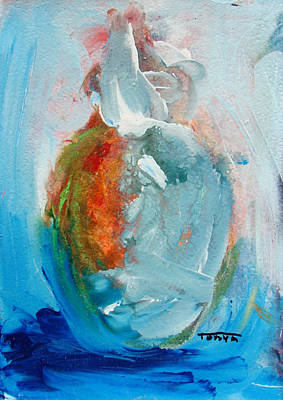 Painting - Apple Blue by Tonya Schultz