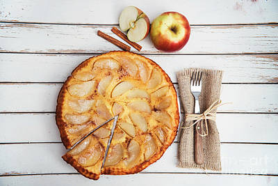 Autumn Woods Photograph - Apple Cake by Viktor Pravdica