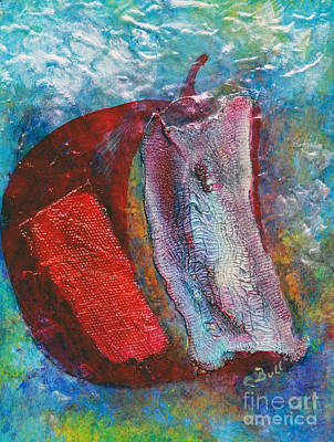 Painting - Apple Core by Claire Bull