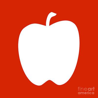 Digital Art - Apple Cutout by Jackie Farnsworth