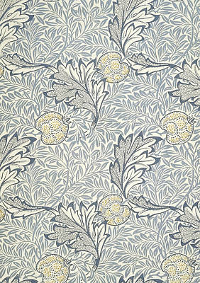 Morris Mixed Media - Apple Design 1877 by William Morris