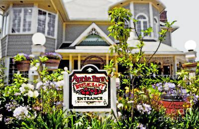 Luis Digital Art - Apple Farm Inn by Linda  Parker