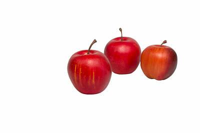 Photograph - Apple Friends by John M Bailey