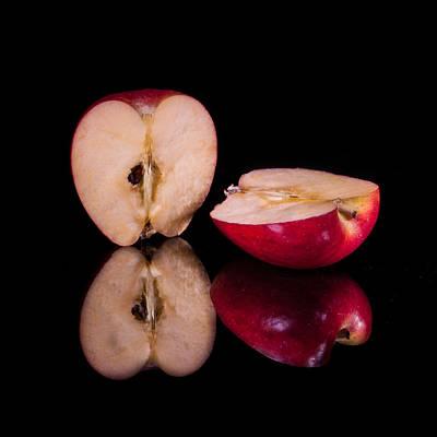 Photograph - Apple Halves by Fred LeBlanc