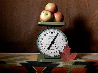 Photograph - Apple Harvest by Grace Dillon