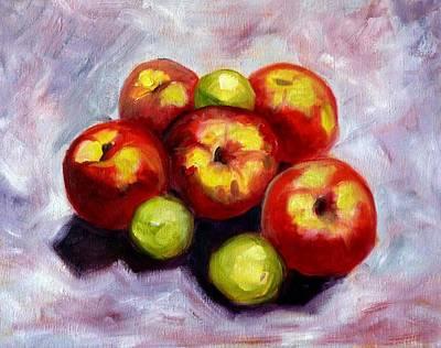 Apple Harvest Original by Nancy Merkle