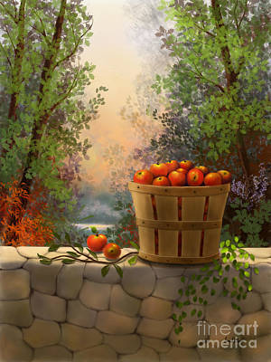 Painting - Apple Harvest by Sena Wilson