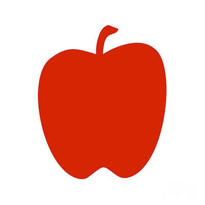 Digital Art - Apple by Jackie Farnsworth