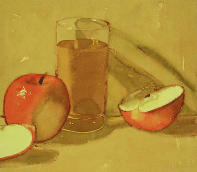 Painting - Apple Juice by Joe Schneider
