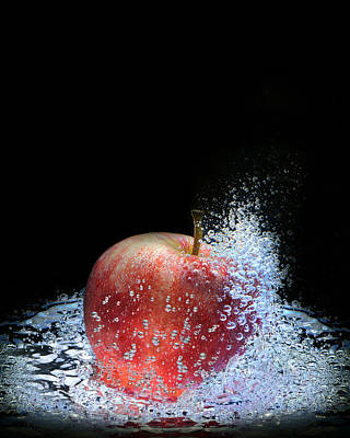 Photograph - Apple by Krasimir Tolev