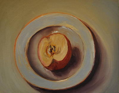 Painting - Apple by Lindsay Frost
