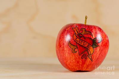 Luis Photograph - Apple Love by Jonas Luis