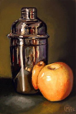 Painting - Apple Martini by Maurice Morgan II