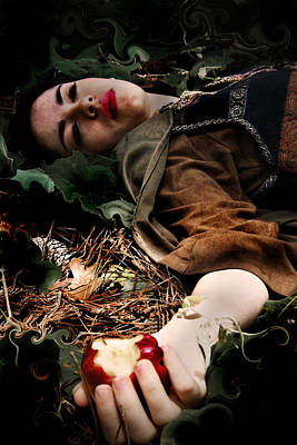 Photograph - Apple Of Death by Cherie Haines