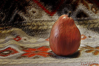 Apple Pear Art Print by David Simons