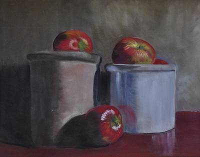 Pastel - Apple Picking by Calliope Thomas