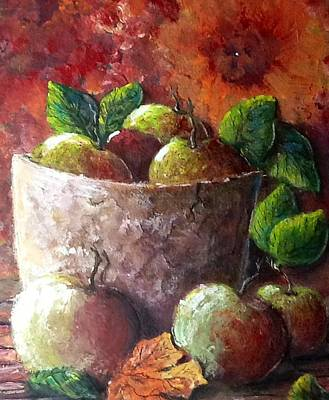 Painting - Apple Picking Time by Megan Walsh