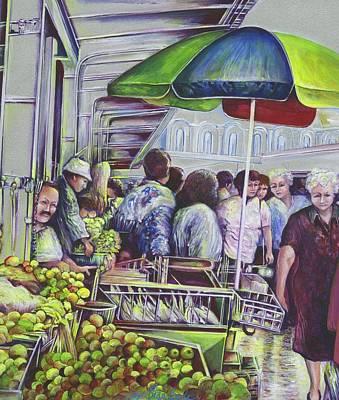 Apple Pie Requires Apples Hungary Art Print by Gaye Elise Beda