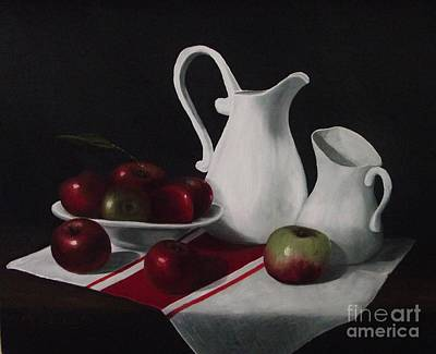 Painting - Apple Season  by Michelle Welles