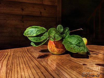 Apple Season Art Print by Natali Prosvetova