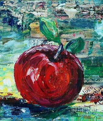 Apple - Sold Art Print by Judith Espinoza