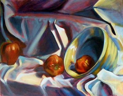 Painting - Apple Still by Kaytee Esser