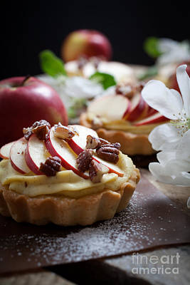 Photograph - Apple Tartlets by Kati Molin