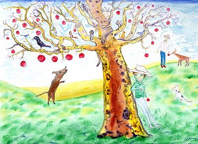 Painting - Apple Tree  Mystique by Jim Taylor