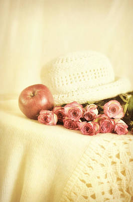 Photograph - Apple With Roses by Gynt Art