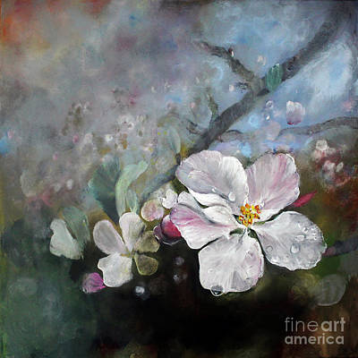 Appleblossom Art Print by Stephanie  Koehl