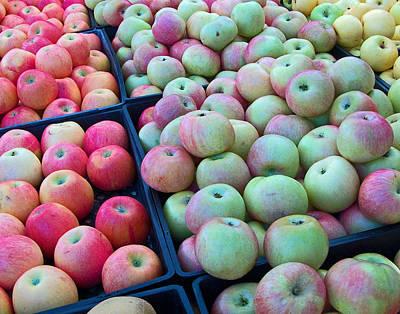 Apples 2 Print by Charlette Miller