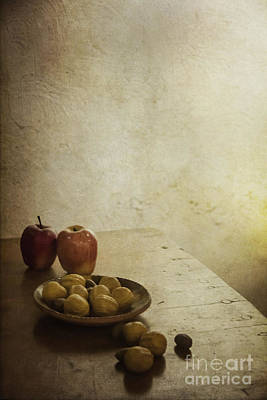 Apples And Figs Art Print by Margie Hurwich