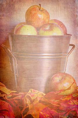 Brass Leafs Photograph - Apples Aplenty  by Heidi Smith