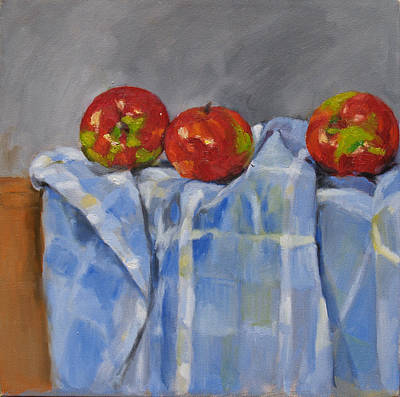 Painting - Apples by Becky Kim