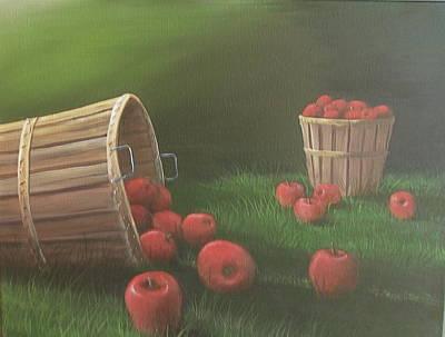 Apples By The Bushel Original by Glen Gray