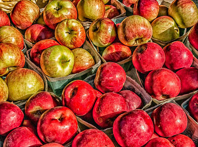 Photograph - Apples by Fred LeBlanc