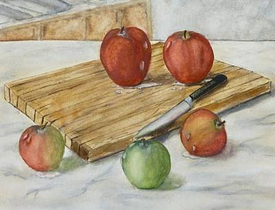 Painting - Apples Galore  by Kelly Mills