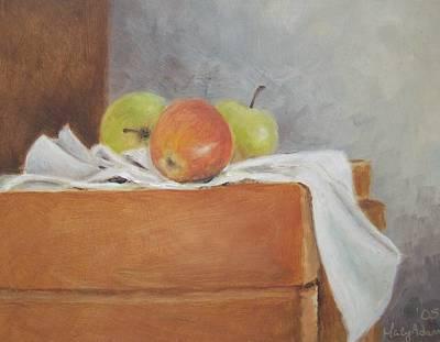 Apples Art Print by Mary Adam