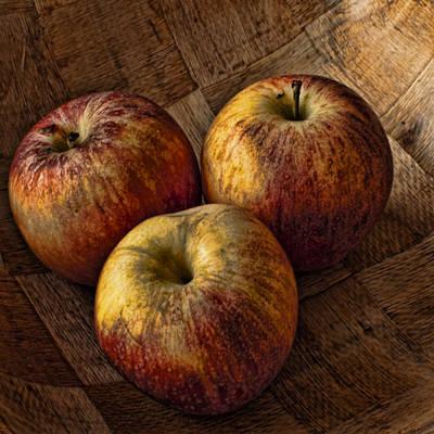 Apples Art Print by Steve Purnell