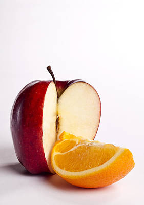 Photograph - Apples To Oranges by Michael Dorn